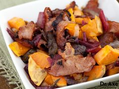 Sweet Potato Beet Hash  http://www.draxe.com  #recipe #easy #healthy