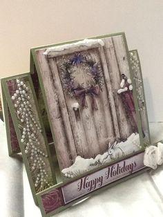 Step card, heartfelt creations paper