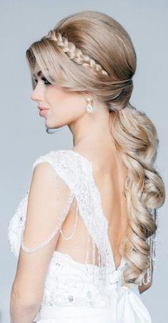 Penteado de noiva