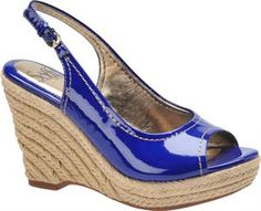 Women's Sofft Balin - Electric Blue Patent