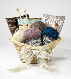 #MomsDay is coming up | Knit or Crochet gift basket for Mother's Day