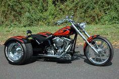 Harley Softail Chopper Trike
