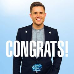 And the final winner of American Idol is Trent Harmon Music!