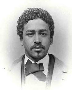 Richard Theodore Greener (1844-1922) was the first Black graduate of Harvard University (Class of 1870)    Credit: vintageblackglamour