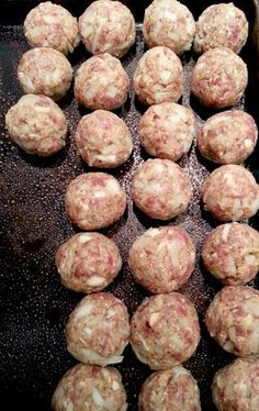 Venison Meatballs- Very good but takes a lot of time, still worth it. WW 360 plan 2 points per meatball
