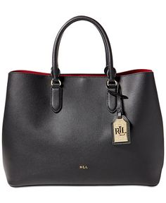 Lauren Ralph Lauren Dryden Marcy Tote - Handbags & Accessories - Macy's