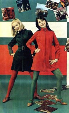 elitropiagogo: 60s fashion with vinyl