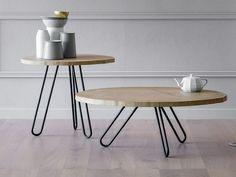 Hay Dlm Bijzettafeltje : Dlm hay wooden tables