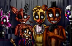 We all in your mind (Five Nights at Freddy's 3) by ArtyJoyful on DeviantArt