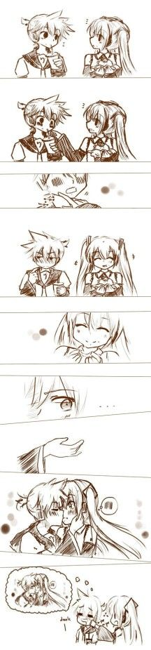 Miku x Len I don't even know what to ship anymore!!!