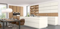 modern handleless kitchen cupboards - Google Search