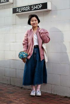 On the street... Sooin Kang Daegu ~ echeveau