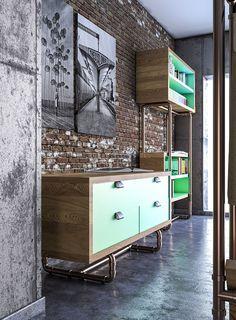 Комплект мебели как цифровой дизайн от Dimitris Niavis