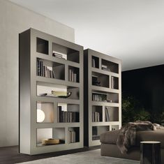 Modern bookshelf ideas designs design best cool bookshelves on creative magnificent wall built in bookcase book Simple Bookshelf, Cool Bookshelves, Modern Bookshelf, Built In Bookcase, Bookshelf Ideas, Bookcase Storage, Book Storage, Book Shelves, Shelving Design