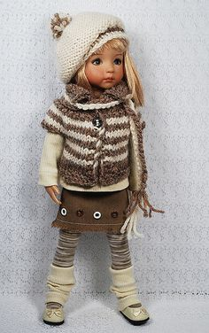 "Inspiration only... This is a 13"" Little Darling Doll by Dianna Effner."