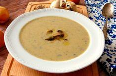 Krémová žampionová polévka Cheeseburger Chowder, Soup, Soups, Soup Appetizers