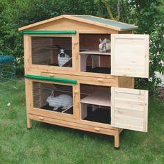 Domek - klatka dla królików - Klatki dla królików - AgroSklep24.pl