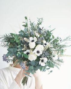 Bride Bouquets, Flower Bouquet Wedding, Yellow Bouquets, Green Flowers, Bridal Collection, Wedding Designs, Planting Flowers, Flower Arrangements, Dream Wedding