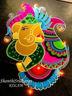 ideas drawing trippy artworks for 2019 Easy Rangoli Designs Videos, Indian Rangoli Designs, Rangoli Designs Latest, Simple Rangoli Designs Images, Rangoli Designs Flower, Rangoli Patterns, Small Rangoli Design, Rangoli Ideas, Colorful Rangoli Designs