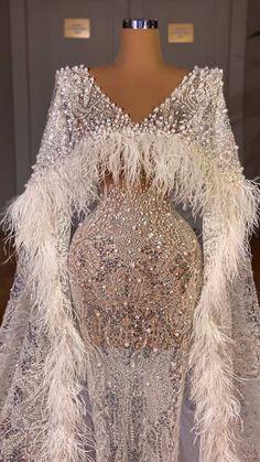 Glamorous Dresses, Glam Dresses, Event Dresses, Stunning Dresses, Pretty Dresses, Wedding Dress Bustle, Dream Wedding Dresses, Long Dress Fashion, Designer Evening Gowns