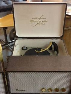 Portable Transistor Tubes Phonograph / Record Player Magnavox  						   						Rebuilt Sept. 2012  						   						Circa 1965   						  						Mint Condition  						   						Incredible Sound!  						   						  						$265  						   						Booth 766   						  						Lula B's  						1010 N. Riverfront Blvd.  						Dallas, TX 75027