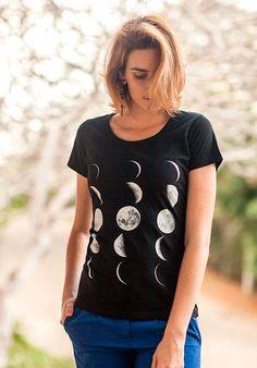 Blusa Slim Fases da Lua