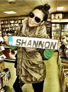 Shannon name