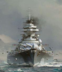 """Bismarck """"Die Deutsche Kriegsmarine"""""""
