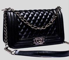 Woman Bag Promotional luxury PU Leather Handbag Chain Shoulder Bag Plaid bags