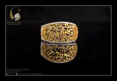 W : www.frozenintime.in  E : contactfrozenintime@gmail.com    Beautiful Bridal Bangle Bracelet by Amaris Jewels