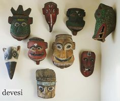 Image result for rajbansi mask Himalayan, Bottle Opener, Masks, Clock, Image, Home Decor, Watch, Bottle Openers, Himalayan Cat