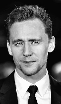 Tom Hiddleston. (Edit by the-haven-of-fiction)