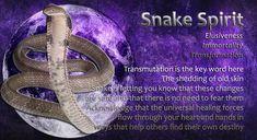 Power Animal, Spirit Guides, Spiritual Awakening, Spirit Animal, Snake, Spirituality, Healing, Let It Be, Words