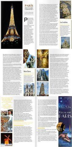 Visita los escenarios de REGÁLAME PARÍS, leyendo el reportaje que publica la Revista Romántica's