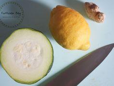 Fermentált citromos-gyömbéres cukkini Honeydew, Zucchini, Avocado, Lime, Homemade, Fruit, Vegetables, Recipes, Blog