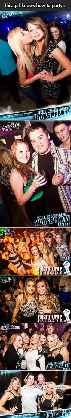 This girl has photo bombing down!