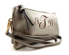Classic Fashion Cross Body with 5 Compartment (Pewter) with FREE MONOGRAMMING - Edit Listing - Etsy