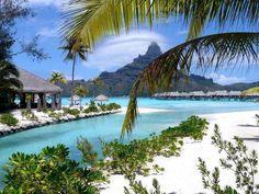Intercontinental Resort and Thalasso Spa, Bora Bora Need A Vacation, Dream Vacations, Vacation Spots, Vacation Ideas, Tropical Vacations, Honeymoon Ideas, Vacation Places, Bora Bora Island, Tahiti Islands