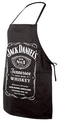 Show your love with a Jack Daniel's apron for Valentine's Day! #ValentinesDay #westernbbq #jackdaniels #valentinebbq