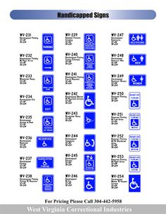 Handicapped Signs - Signs