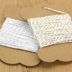 Divine Metallic Gold or Silver Bakers Twine