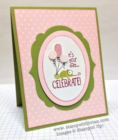 Stamp Sets:  Tag It  Inks:  Pink Pirouette, Raspberry Ripple, Stampin' Write Markers (Pink Pirouette, Raspberry Ripple, Basic Black)  Papers:  Old Olive, Whisper White, Subtles Designer Series Paper Stack (Pink Pirouette)  Accessories:  Oval Collection Framelits, Labels Collection Framelits, Stampin' Dimensionals, Stampin' Sponge