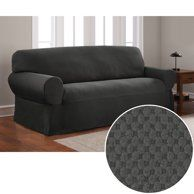 Sure Fit Cotton Duck Sofa Slipcover Walmart Com Furniture Covers Slipcovers Slip Covers Couch Slipcovers