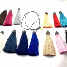 We love the color options for the Tassel collection at @myalljewelry