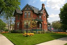 Historic Webster House in Bay City, Michigan