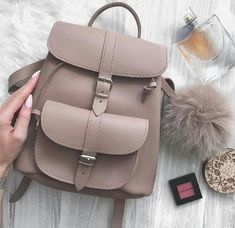 Back to school with Grafea cute bags – Just Trendy Girls Backpack Purse, Leather Backpack, Grafea Backpack, Leather Bag, Fashion Bags, Fashion Backpack, 90s Fashion, Back Bag, Cute Backpacks