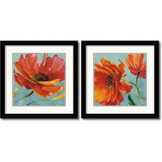 @Overstock - Bring any room to life with these beautiful, vibrant contemporary framed art prints. With bold, warm colors, this beautiful floral print will make spring an everlasting season in your home, providing a modern flair to any room or decor.http://www.overstock.com/Home-Garden/Lisa-Audit-Flamboyant-Poppy-Framed-Art-Print-Set/7026279/product.html?CID=214117 $274.99