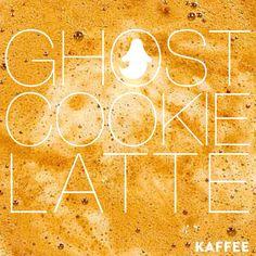 The Ghost Cookie Latte at #kaffeemahomet #caramel #cinnamon #irishcream #ghostpepper #ghostcookielatte itshere