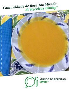 Sopa de Cenoura e Abóbora de Raquelita_. Receita Bimby<sup>®</sup> na categoria Sopas do www.mundodereceitasbimby.com.pt, A Comunidade de Receitas Bimby<sup>®</sup>.