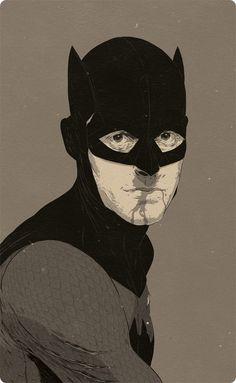 Batman 100 años / Ilustración de Paul Pope #dccomics #comics #batman